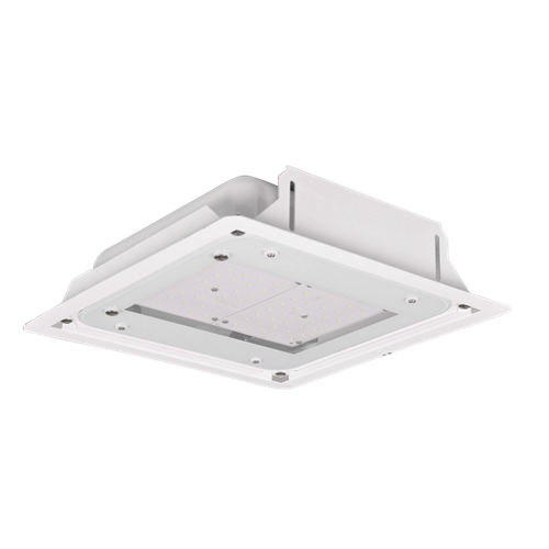 Recessed Okta LED Canopy Luminaires