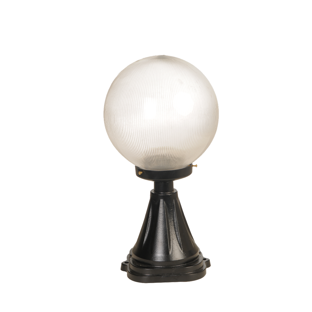 Ball Prizmatik Wall Top Luminaire