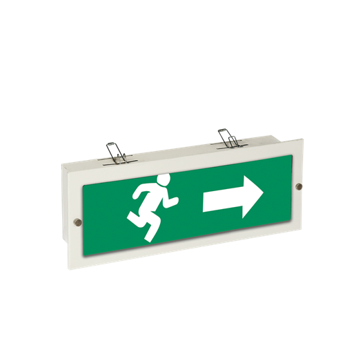Wall Pendant Emergency Exit Luminaire